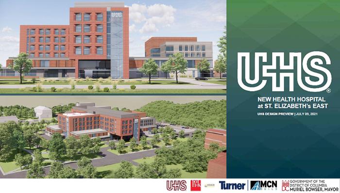 New hospital design rendering