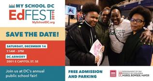 My School DC EdFEST 2019 Save the Date
