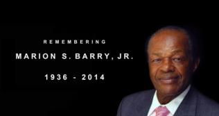 Image of former Mayor Marion S. Barry, Jr.