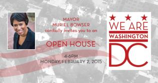 Mayor Bowser's Open House