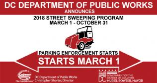 Street Sweeping Starts March 1