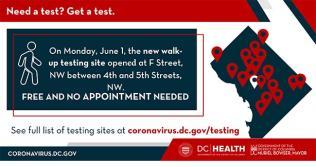 Find coronavirus testing sites