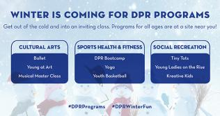 DPR Winter Programs graphic