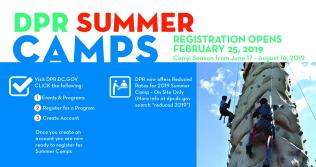 Register for Summer Camps