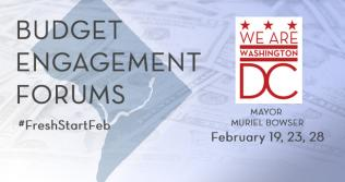Budget Engagement Forums