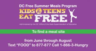 Summer Meals - Kids Eat Free All Summer