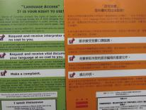 Language Access - an array of forms in many languages