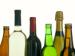 Row of liquor bottles